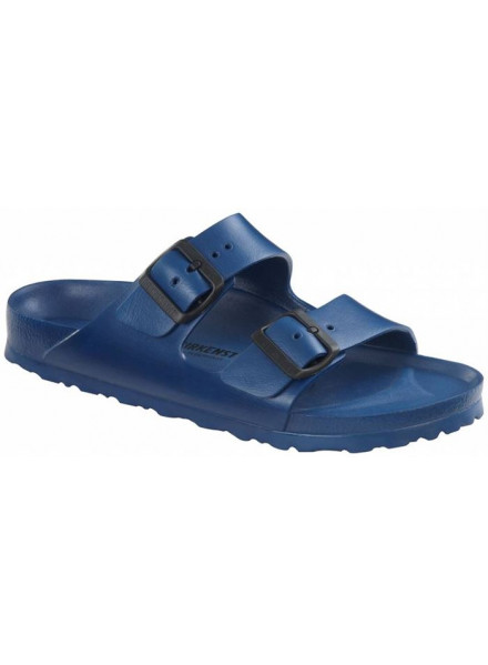 BIRKENSTOCK ARIZONA BLUE SANDALS MAN