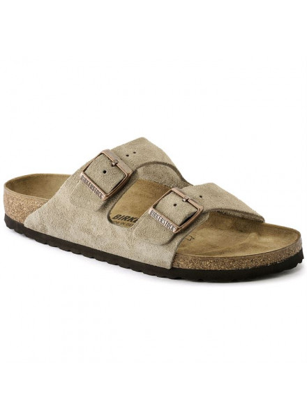 BIRKENSTOCK ARIZONA BEIGE SANDALS MAN