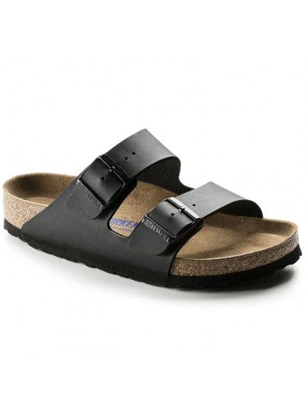 BIRKENSTOCK ARIZONA BLACK SANDALS WOMAN