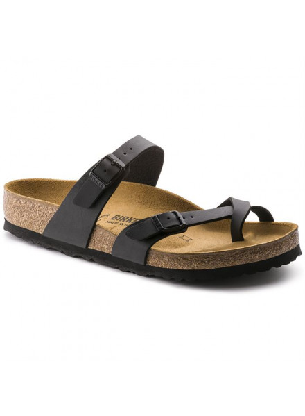 BIRKENSTOCK MAYARI BLACK SANDALS WOMAN