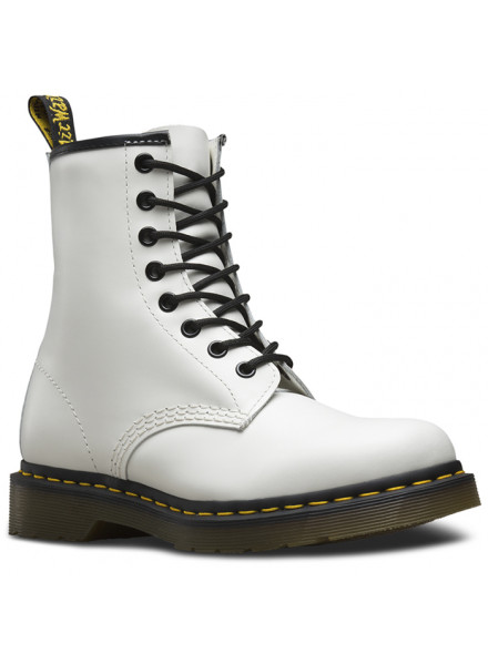 BOTA DR. MARTENS 1460 8-EYE SMOOTH WHITE