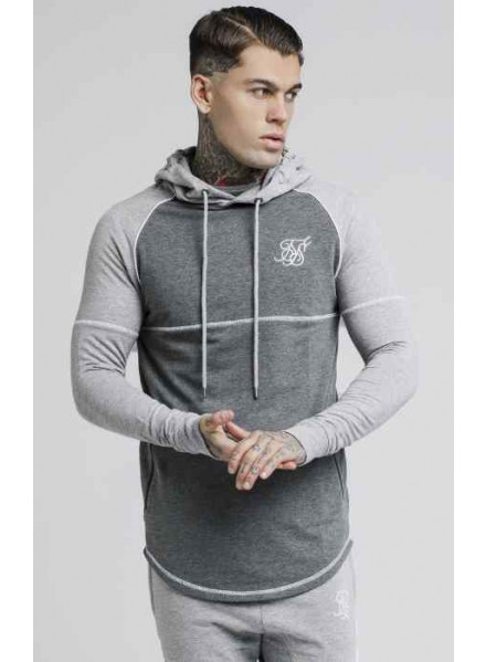 Siksilk Zonal Grey Man Sweatshirt