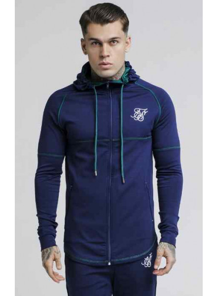 Siksilk Zonal Zip Astral Man Sweatshirt