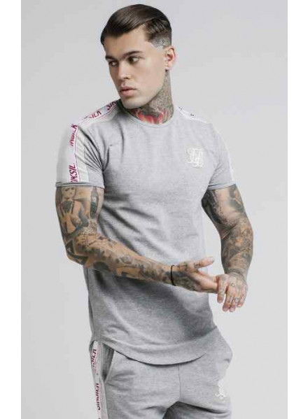 SikSilk Tape Gym T-shirt