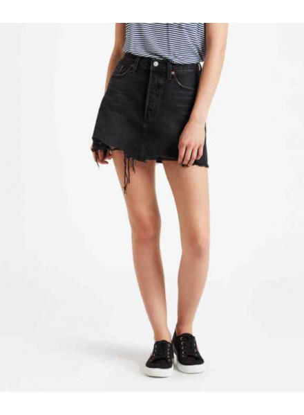 LEVIS DECONSTRUCTED ILL WOMAN SKIRT