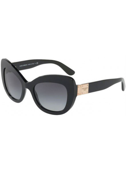 DOLCE & GABBANA DG4308 BLACK/GREY GRADIENT S.53