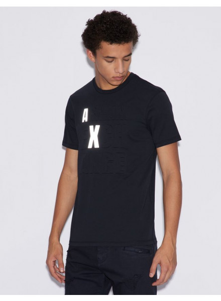 ARMANI EXCHANGE NAVY MAN T-SHIRT