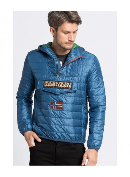 NAPAPIJRI RAINBOW POWER BLUE JACKET MAN