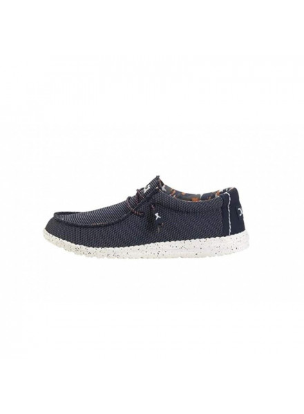 ZAPATO DUDE WALLY SOX BLUE MULTI T-41