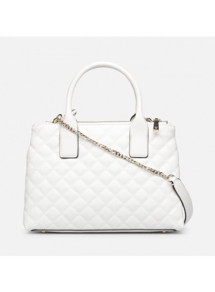 Guess Status Satchel White Woman Shoes