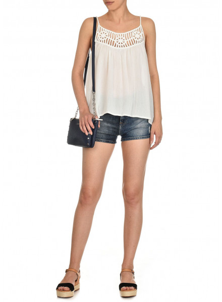 PEPE JEANS HOLLY FACTORY WHITE WOMAN