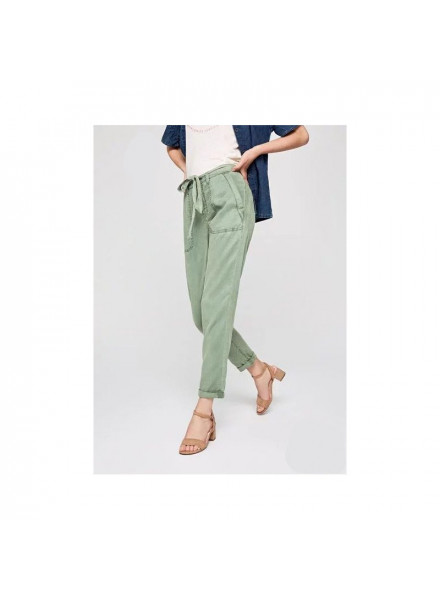 Pepe Jeans Ddifter Dark Olive Woman Pants