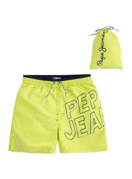 Pepe Jeans Gold Acid Green Man Swimsuit
