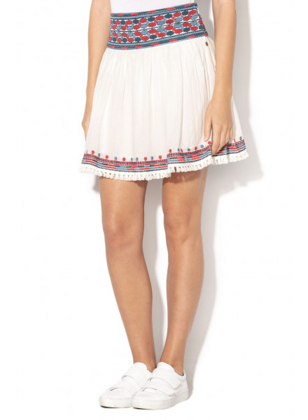 PEPE JEANS SKIRT TANYA FACTORY WHITE WOMAN