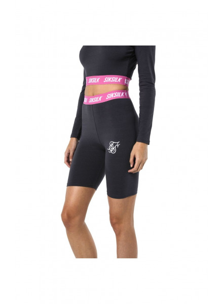 SikSilk Elastic Waist Cycle Short