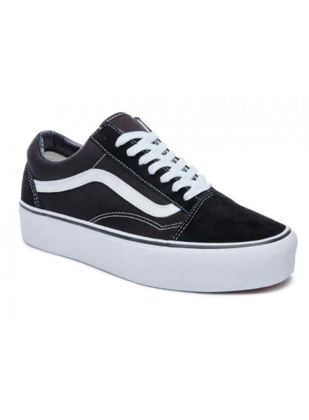 Vans Old Skool Platform Black/White Shoes