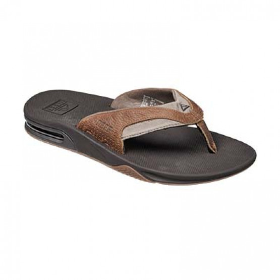 Chanclas Reef Leather Fanning H.