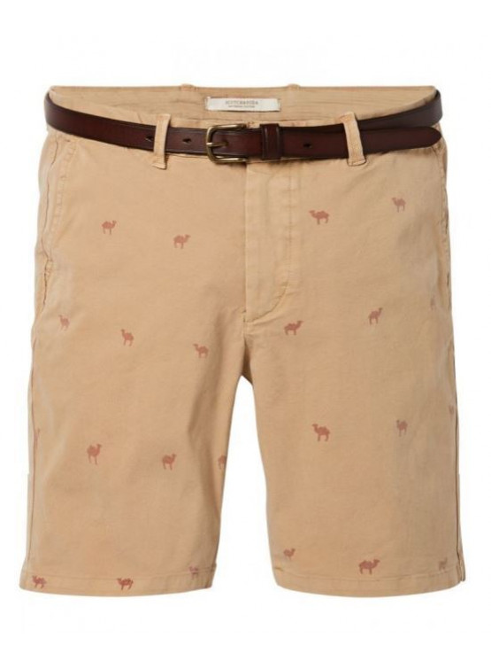 Bermudas Scotch & Soda Garment Dyed Combo A