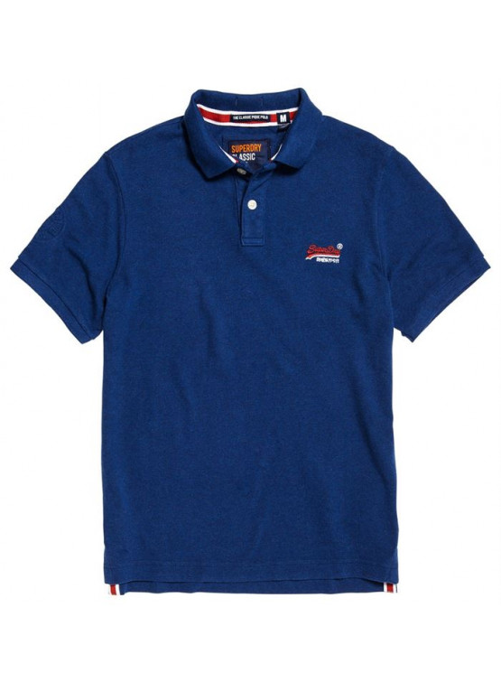 Polo Superdry Classic Pique Sonix Blue