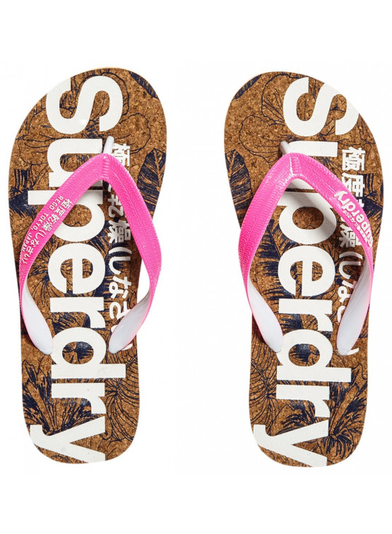 Chanclas Superdry Printed Cork