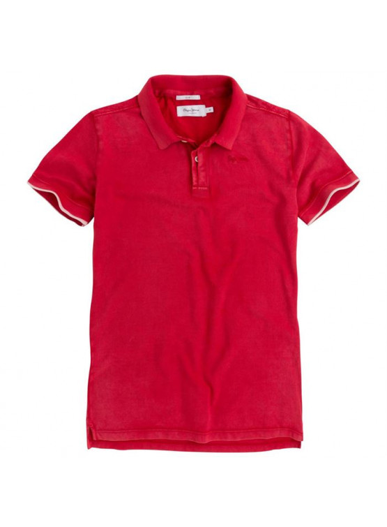 Polo Pepe Jeans Fra Ribbon Red