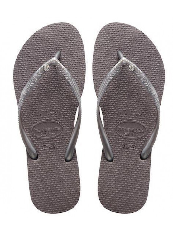 Chanclas Havaianas Crys Glamou D. Steel Grey