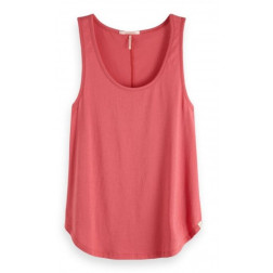 Top Maison Basic Tank Print Ans Sol Mujer