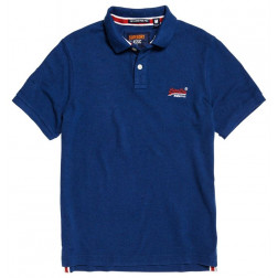 POLO SUPERDRY CLASSIC SONIX BLUE HOMBRE