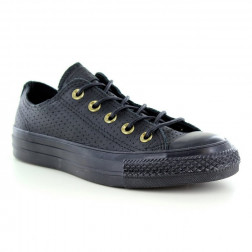 ZAPATILLAS CONVERSE CHUCK TAYLOR ALL STAR CRAFT LEATHER NEGRAS MUJER