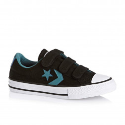 ZAPATILLAS CONVERSE STAR PLAYER ALL STAR NEGRO/AZUL JUNIOR