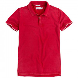 POLO PEPE JEANS FRA RIBBON RED HOMBRE