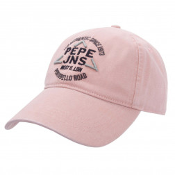 GORRA PEPE JEANS MILLINERY CROWLEY BLEACH PINK HOME