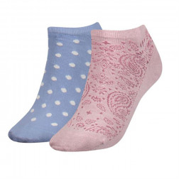 CALCETINES TOMMY HIFIGER PAISLEY DO LILAC HINT