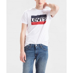 CAMISETA LEVIS SPORTS WEARL WHITE HOMBRE