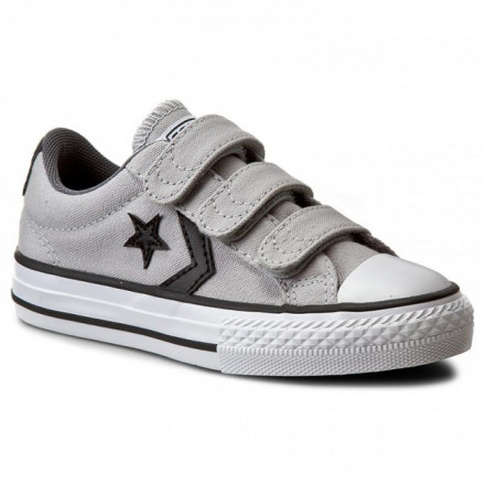 Zapatillas Converse Star Player All Star Gris Junior