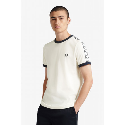 CAMISETA TAPED RINGER FRED PERRY HOME
