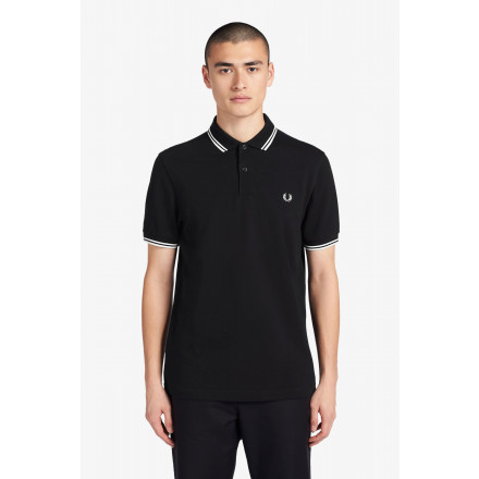 POLO TWIN TIPPED FRED PERRY HOME