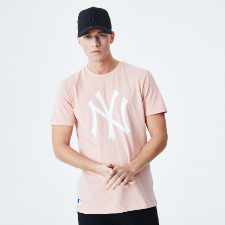 Camiseta New Era MLB Seasonal Team NYY Rosa