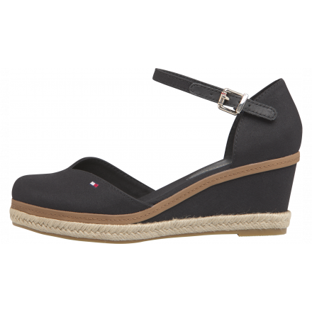 ZAPATO TOMMY HILFIGER TOE MID WEDGE