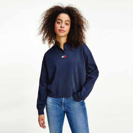 POLO BADGE TOMMY HILFIGER MUJER