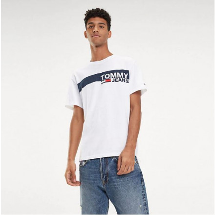 Camiseta Tommy Hilfiger Essential B Classic Wh