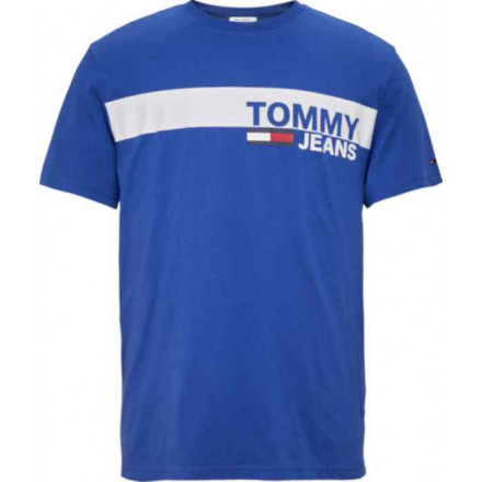 Camiseta Tommy Hilfiger Essential B Limoges/Wh