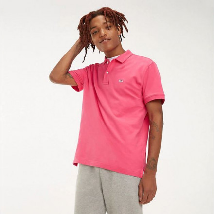 Polo Tommy Hilfiger Classics Solid Fuchsia