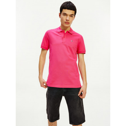 POLO TOMMY HILFIGER CLASSICS STRETCH PINK HOMBRE