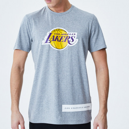 Camiseta New Era Los Angeles Lakers NBA Back Half
