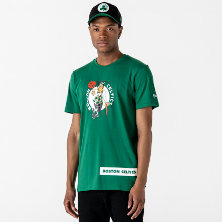 CAMISETA NEW ERA BOSTON CELTICS BLOCK WORDMARK
