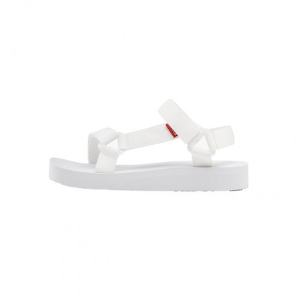 CHANCLA LEVI'S CADYS WHITE LOW MUJER