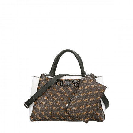 BOLSO AMBROSE TURNLOCK GUESS MUJER