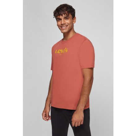 CAMISETA RELAXED FIT LOGO LEVIS HOMBRE