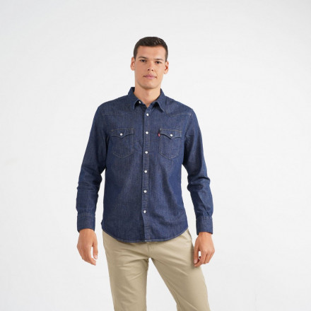 CAMISA BARSTOW WESTERN LEVIS HOMBRE
